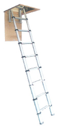 Telescopic Loft ladder 2.4m