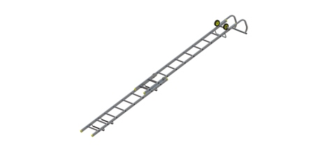 Roof Ladder 2 section 3.20m - 4.89O