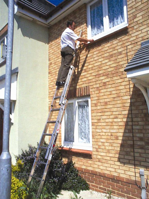 DOMESTIC EXTENSION LADDERS