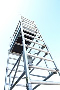 Boss Solo 700 one person tower x 4.2m platform height