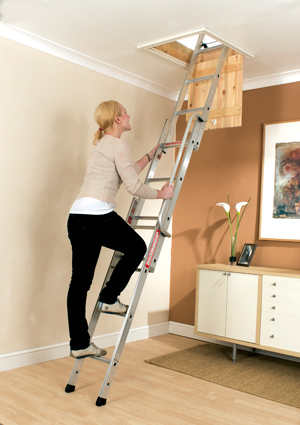 EASIWAY 3 SECTION LOFT LADDER