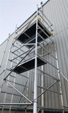 Boss Evolution Ladderspan Aluminium Scaffold Tower